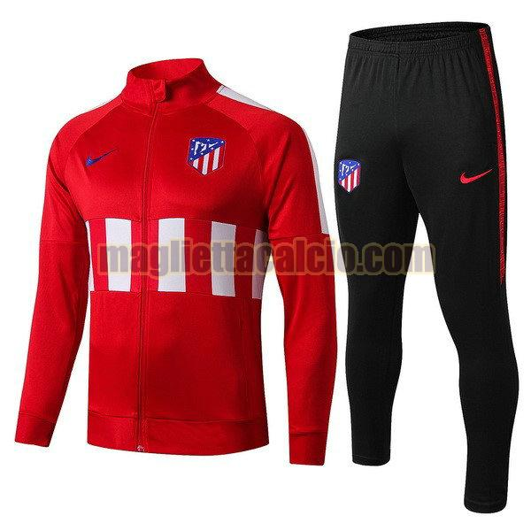 giacca atletico madrid bambino rosso blu 2019-2020