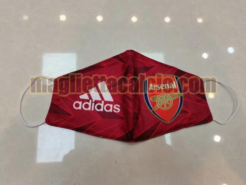 maschere rosso arsenal 2020-2021